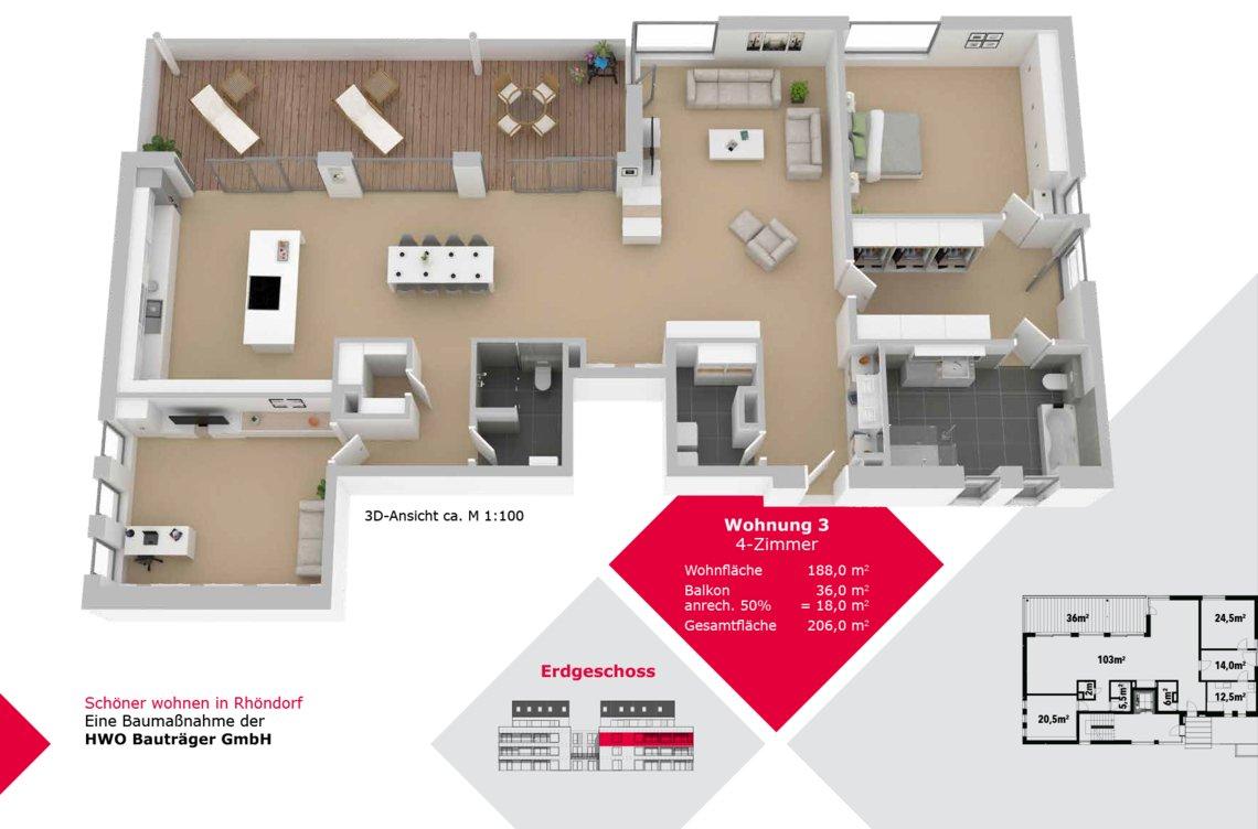 Wohnung 3 - FW-S-16
