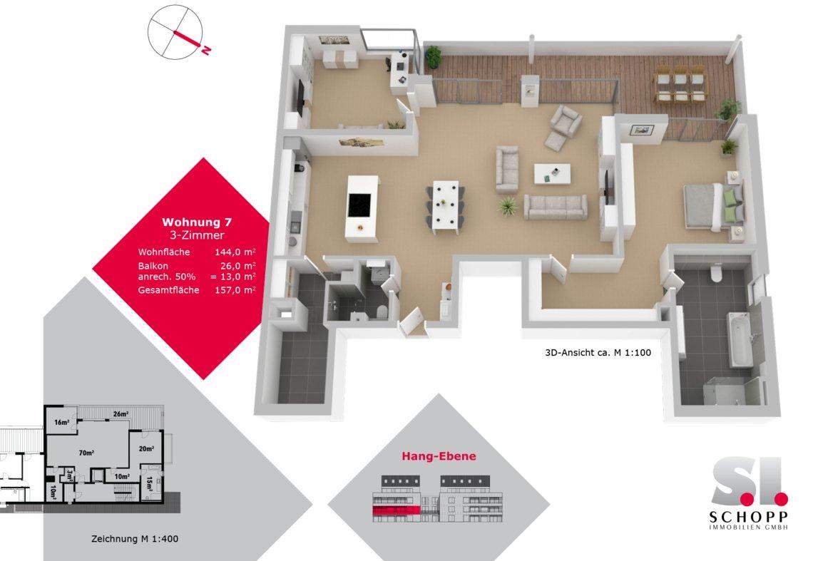 Wohnung 7 - FW-S-19