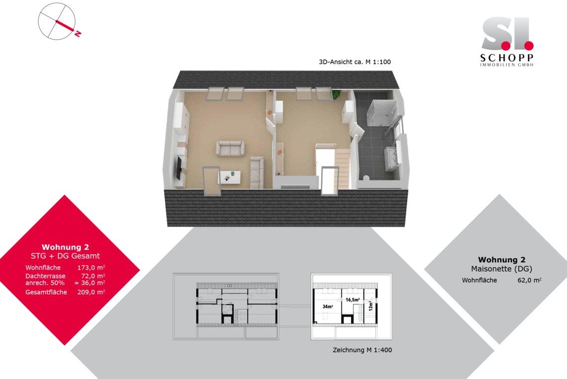 Wohnung 2 - FW-S-15