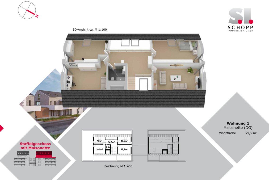 Wohnung 1 - FW-S-13