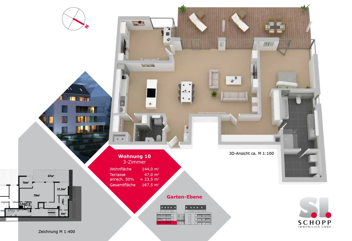 Wohnung 10 - FW-S-21